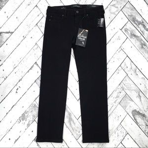 Liverpool The Perfect Black Straight Jeans